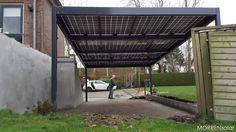 solar carport met zonnepanelen Vroomshoop