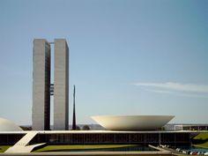 Plan Piloto de Brasilia (3 poderes de la república de Brasilia)- Por: Costa, Lucio y Oscar Niemeyer