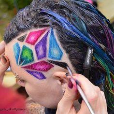 🌈In action🌈 .  .  .  For bookings check in with salon  @cherrybomb_hair 🍒 Or send me a dm 🤗💕 .  Colors : @manicpanicnyc .  model : @monkey__adventures. .  .  .  . .  #cherrybomb #cherrybombhair #awesomeclients #rainbowhair #modernsalon  #buzzcutfeed #hair  #melbournehair #melbourne #melbournestylist  #hotonbeauty #hairofinstagram #americansalon  #australiahair #collingwood #bustme  #hairtattoo  #undercut  #behindthechair