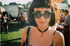short fringe, baby bangs | hair trend 2014 (too bad I would look awful with them)