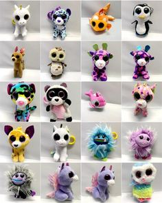 9cm Plush Soft Funny Cute Gray Cat Doll Toys Keychain Gift 4 Designs Unisex