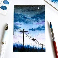 Watercolor Painting, FINE ART PRINT – ArtBySinch