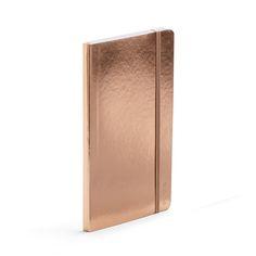 Copper Medium Soft Cover Notebook,Copper