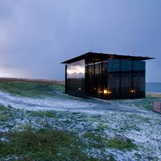 Steilneset Memorial by Peter Zumthor   and Louise Bourgeois  3 January 2012