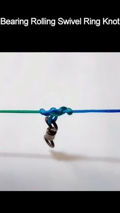 Survival Knots, Survival Videos, Fishing Hook Knots, Best Knots, Knots Guide, Rope Knots, Fishing Rigs, Jewelry Knots, Rope Crafts