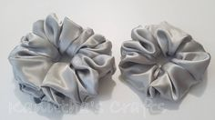 Silk satin Scrunchies Medium - Extra Large,Spring gifts,Ponytail holder tie,Silk hair tie accessories,Gift for girl,Gift for girl friend by KanitthasCrafts on Etsy