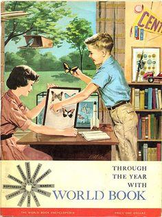 World Book Vintage Ad (1960)