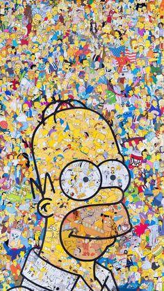 Imagen de Homero, simpsons, and wallpaper