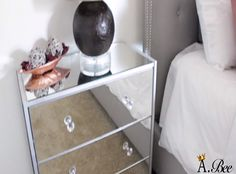 Here's another DIY that's super easy to do. Turn your new or old night stand or any cabinet into a fantastic looking furniture using frameless mirrors! If you are planning to have a mirrored nightstand, you better check this video first, before you head out the door and purchase one. credits: AprilBee Store-bought mirrored nightstands could roughly cost you around $450-$750 per piece. However, this nightstand project will only cost you about $75 for each piece, which makes it extremely…