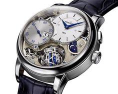 La montre Gyrotourbillon3, grande nouveauté technique de l'année 2013 © Jaeger-LeCoultre