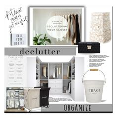 """""""If It Doesn't Matter- Get Rid Of It!"""" by elleylove ❤ liked on Polyvore featuring interior, interiors, interior design, home, home decor, interior decorating, Bestar, Kate Spade, InterDesign and Sabichi"""