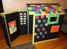 Foam Board DIY Playhouse