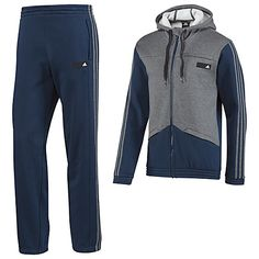 adidas Hooded Jogger Track Suit