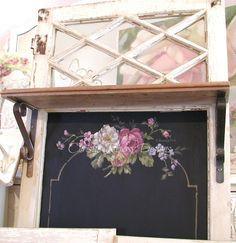 HP chalkboard window~ C.Repasy