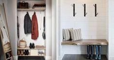 garde-robe entree sans porte Design Hall, Sweet Home, Entryway, Organiser, Furniture, Recherche Google, Home Decor, Concept, Diy