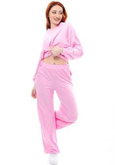 Παντελόνι φόρμας Miss Pinky φούτερ καμπάνα - Miss Pinky