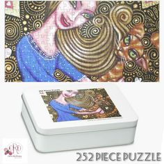 Gifts For Teens, Gifts For Her, Puzzle Art, Christmas Gift Guide, Holiday Activities, Print Store, Grandma Gifts, Family Gifts, Cat Art