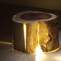 top3 by design - Duncan Meerding - Duncan Meerding - cracked log lamp