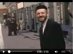 Color Video Footage of Warsaw Ghetto in Sad to think that these people will be murdered In just a year or so of this filming. Israel Video, Warsaw Ghetto, Corrie Ten Boom, Jewish History, Lest We Forget, Video Footage, Films, Movies, World War Two