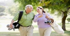 """To make yourself busy and to have fun, play games with your spouse as an outdoor activity. The best game to play is """"Golf"""". Play golf with your love once"""