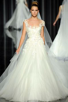 My wedding dress HAS to be an Ellie Saab.