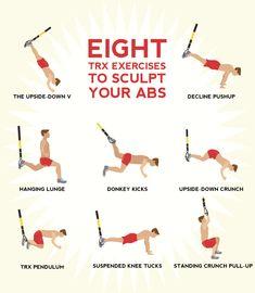TRX Exercises to Sculpt Your Abs