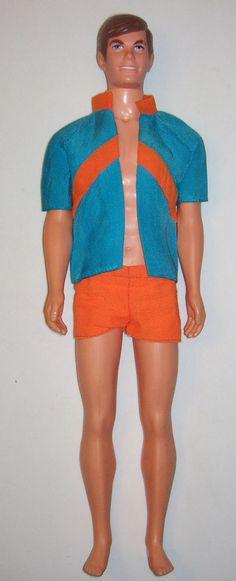 1969 Talking Ken doll #1111