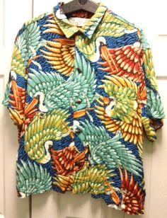 29.95 New Orleans Jazz Fest Pelican Shirt Bayou Wear Birds Fish Buttons 2XL XXL #Art4Now #NewOrleans #JazzFest #PelicanShirt #BayouWear