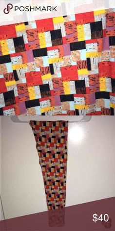 LuLaRoe Plaid OS Leggings NWT Great pair of LLR leggings, size OS (one size, fits 0-12)   Never worn or washed  Made in China  **The red is true red, and there's black too   PLAID and who doesn't like plaid?! Lol   Make sure to check out all my other great listings by clicking on my name!   If you'd like to purchase two or more items, I will happily bundle and discount, just let me know!  Thank you for looking and God Bless! LuLaRoe Pants Leggings