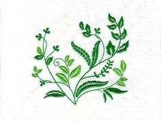 Shades of Green Machine Embroidery Designs http://www.designsbysick.com/details/shadesofgreen