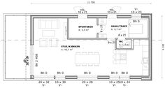 HYTTEN | Spranget Floor Plans, Floor Plan Drawing, House Floor Plans