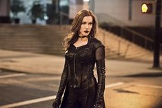 BuddyTV Slideshow | 'The Flash' Episode 2.22 Photos: Meet Earth-2's Evil Laurel Lance
