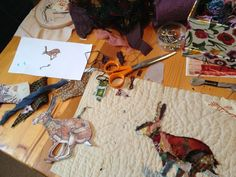Mandy Pattullo/Thread and Thrift - workshop in process