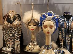 how to make a showgirl headdress - Google Search