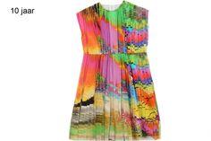 Explosive colors in dress Diana.