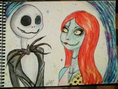 Jack And Sally by ~Dotticus on deviantART