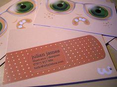 35 cartões de visita para você se inspirar - Designerd