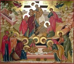 Crucifixion Of Jesus, Russian Icons, Orthodox Christianity, Holy Week, Orthodox Icons, Religious Art, Scene, Faith, Painting