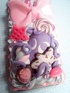Decoden Sweet Tooth Octopus Kawaii Deco Case for by Lucifurious, $42.00