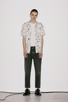 Men's August LookBook Look 2: Feels Shirt, Ibis Shoe, Torr Crew