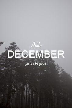 Hello december, please be good on we heart it Hello December Tumblr, December Daily, Hello December Pictures, Hello July, December Pics, Happy December, Wallpaper Free, Calendar Wallpaper, Iphone Wallpaper