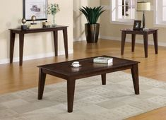 Aury Coffee Table in Dark Brown Finish by Coaster Furniture by Coaster Home Furnishings. $256.50. Accent Table. Living Room Furniture. Occasional Table. Brown Table. Coffee Table. Add more style and beauty to your living room with fabulous Aury Coffee Table. Featuring wonderful brown finish this table will be the perfect choice to improve decor of any designed room. #coasterfurniturebrown