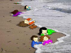 L'hommage+à+Aylan+Kurdi+par+les+dessinateurs+du+monde+entier