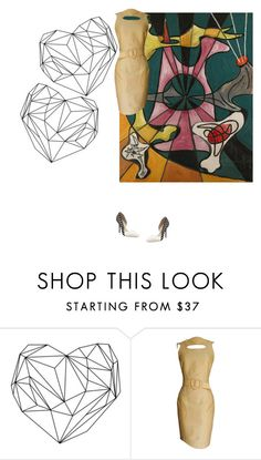 """""""Untitled #983"""" by kohlanndesigns ❤ liked on Polyvore featuring Thierry Mugler and Sophia Webster"""