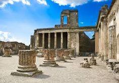 Ruins of Pompeii in Pompeii, Italy