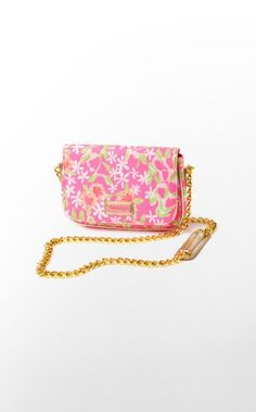 This purse was MADE for parties. In this perfect print, this bag will go with every cocktail dress you own and allow you to use your hands for better things, like fixing your lip gloss.