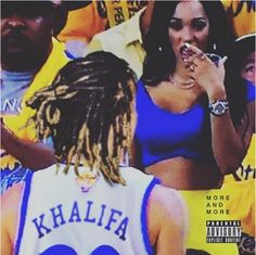Wiz Khalifa Uses Roni Rose To Mock Steph Curry & Promote New Music All At Once — SeePic