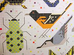 Charley Harper Federal Building Mural » Blog » Delicious Industries
