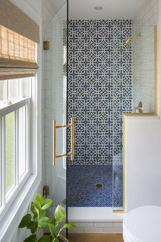 Little Bathroom that Could Bath Design Detail Contemporary Modern Eclectic by Deep River Partners, Ltd Bathroom Designs India, Modern Bathroom Design, Bath Design, Bathroom Interior Design, Decor Interior Design, Bathroom Ideas, Bathroom Inspiration, Bathroom Inspo, Bathroom Renovations