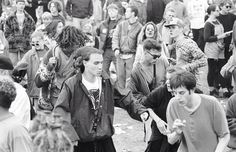 Castlemorton free party people 1992